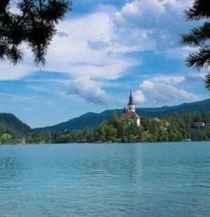 Foto del lago di Bled