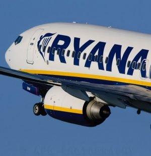 foto dell'aereo ryanair