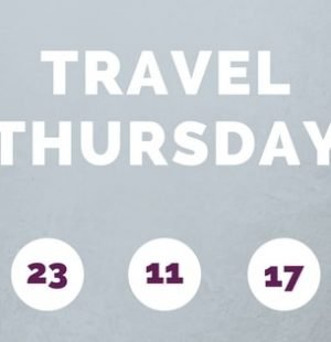 scritta travel thursday