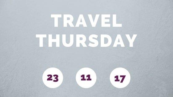 scritta travel thursday