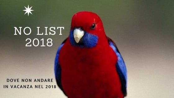 Dove non andare in vacanza nel 2018 la no list dei for Dove andare in vacanza 2017