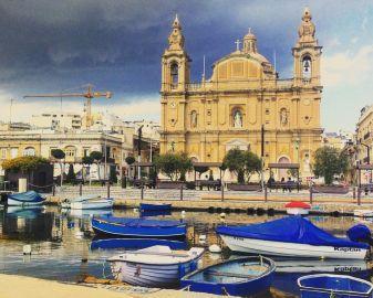 La chiesa di Pieta a Malta