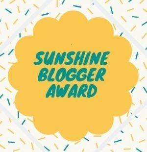 copertina dei sunshine blogger award